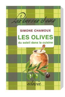 Livre Les olives du soleil dans la cuisine