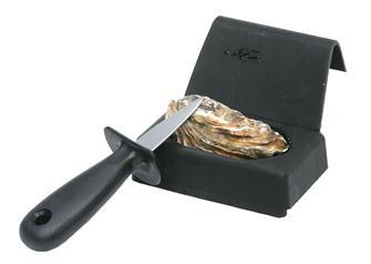 Cale huîtres avec lancette