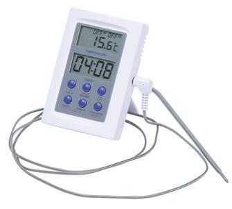 Thermomètre pour four avec sonde inox