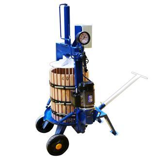 Pressoir hydraulique électrique automatique 69 litres 40 cm