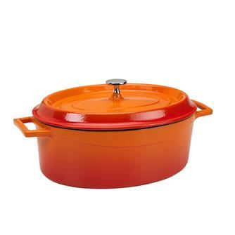 Cocotte ovale 29x22 orange