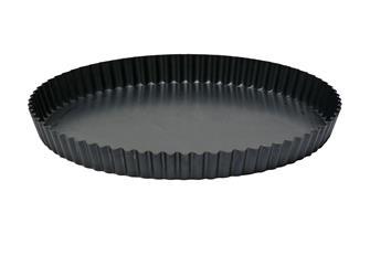 Tourtière acier 29 cm à fond démontable