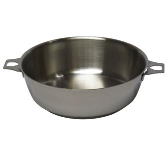 Sauteuse inox induction 24 cm queue amovible
