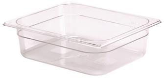 Bac gastro sans BPA GN 1/2 h. 10 cm en copolyester