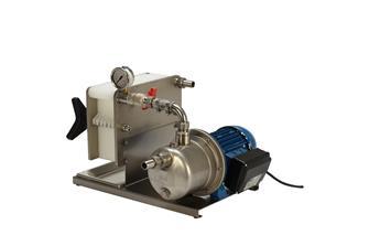 Pompe-filtre à 7 plaques pour liquides alimentaires