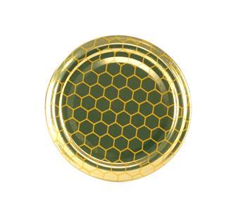 Capsules Twist-off miel alvéoles 63 mm par 10