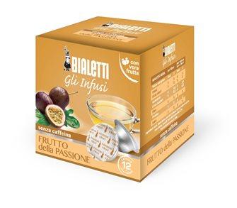 Boîte de 12 capsules Bialetti infusion fruit de la passion