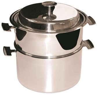Ensemble de cuisson Baumstal inox induction 24 cm