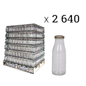 Bouteilles à jus de fruits, 1/2 l par palette de 2640 pièces