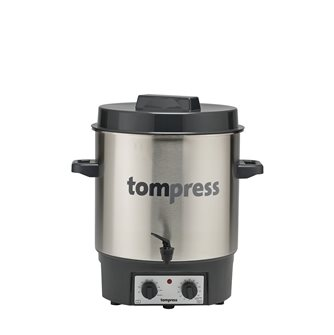 Stérilisateur électrique inox avec robinet et minuterie Tom Press