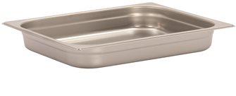 Bac gastronorm inox GN 1/2 h. 4 cm EN-631