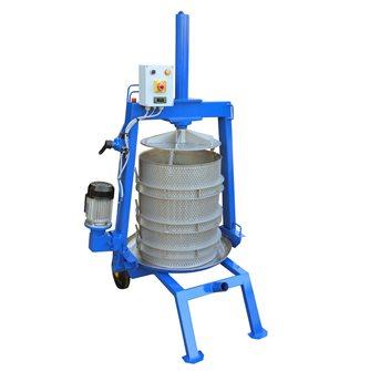 Pressoir hydraulique électrique 69 litres en inox