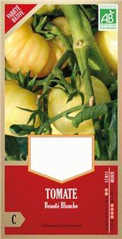 Graines de tomate beauté blanche