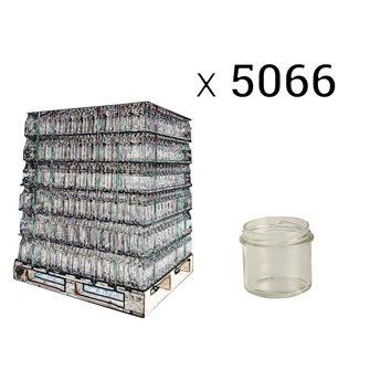 Pot à pâté en verre twist off 90 g. par palette de 5066