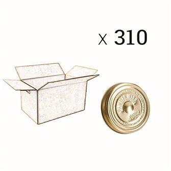 Couvercle Familia Wiss® 100 mm par carton de 310