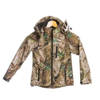 Blouson enfant camouflage feuille Bartavel Buffalo 8 ans softshell