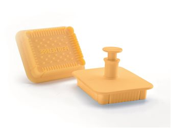 Emporte-pièce pour biscuits petit beurre avec poussoir