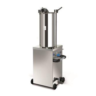 Poussoir à viande vertical électrique 15 litres monophasé
