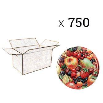 Capsules Twist-off confiture Tutti Frutti Francia Diam 82 par 750