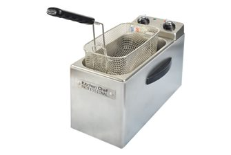 Friteuse professionnelle 4 litres 2 500 W avec minuteur fabriquée en France