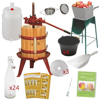 Kit Essential cider with press 30 cm