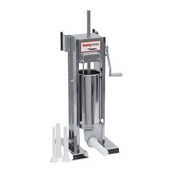 Poussoir à viande vertical/horizontal inox 6,5 litres Tom Press par Reber